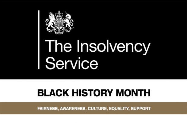 Insolvency Service Black History Month 2020 logo