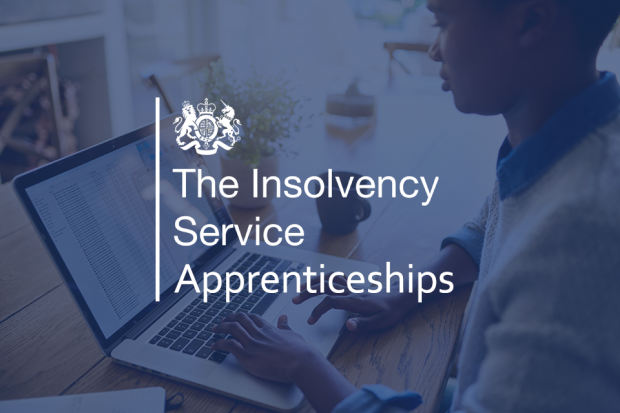 The Insolvency Service Apprenticeships logo